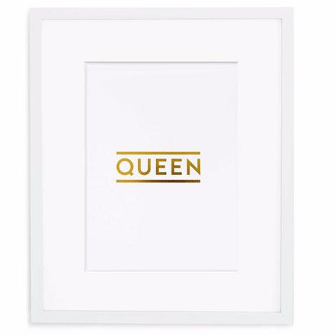 Queen Print by Swell Made Co on OOSTOR.com