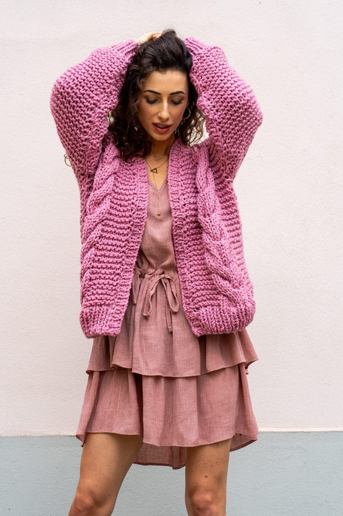 HAND MADE Lui Sweater in Pink