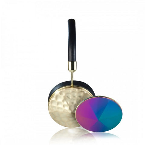 Taylor Gold/Oilslick Battered Headphones Bundle