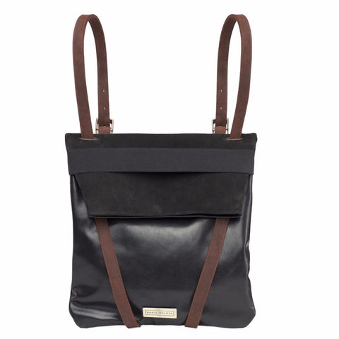 Black Backpack by Maria Maleta on OOSTOR.com