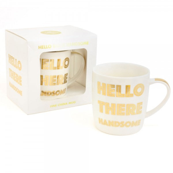 Hello There Handsome Mug by Sole Favors on OOSTOR.com