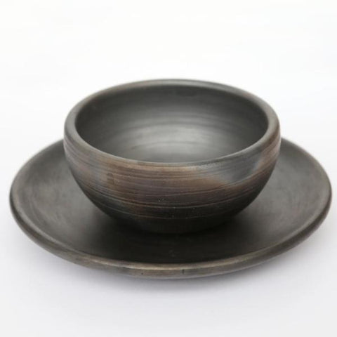 Metallic Bowl and Plate Set by Studio Beate Snuka on OOSTOR.com
