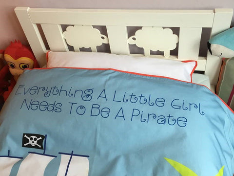 Everything A Little Girl Needs To Be A Pirate