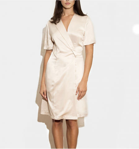 CORA WRAP DRESS by TwentyFour Fashion on OOSTOR.com