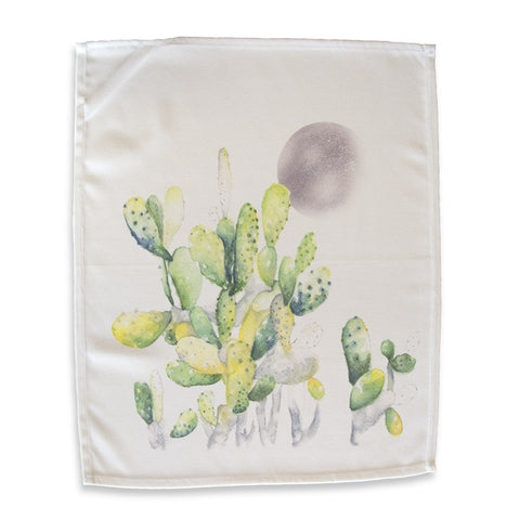 Cactus Moon Tea Towel by Rosehip & Wild on OOSTOR.com