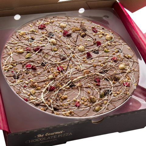 "Crazy Crunch 10"" Gourmet Chocolate Pizza by The Gourmet Chocolate Pizza Company Ltd on OOSTOR.com"