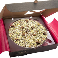 "Crunchy Munchy 10"" Gourmet Chocolate Pizza by The Gourmet Chocolate Pizza Company Ltd on OOSTOR.com"