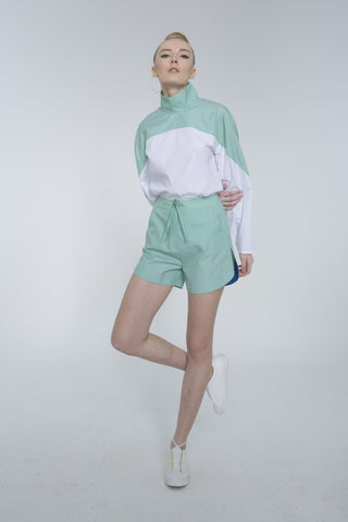 Mint Shorts by 113 Studio on OOSTOR.com