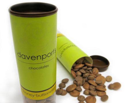 Chocolate Buttonette Tubes by Davenports on OOSTOR.com
