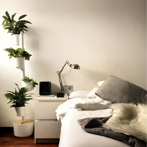 White Self-Watering Vertical Garden by Citysens on OOSTOR.com