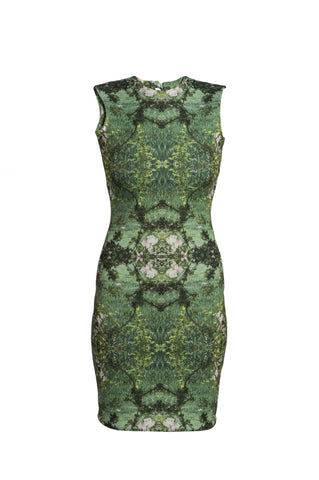 Nouveau Garden Body Con Dress by CoCo VeVe on OOSTOR.com