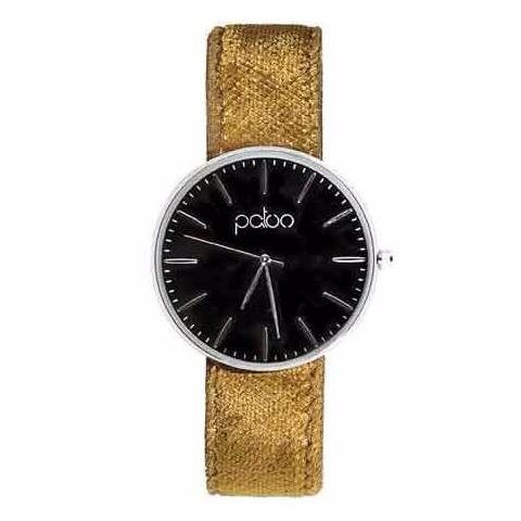 Gold Velvet Watch by Patoo Watches on OOSTOR.com