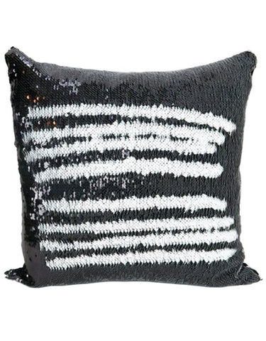 Black & White Mermaid Cushion by Mermaid Pillow Shop on OOSTOR.com