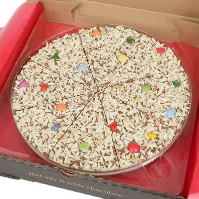 "Jelly Bean Jumble 7"" Gourmet Chocolate Pizza by The Gourmet Chocolate Pizza Company Ltd on OOSTOR.com"