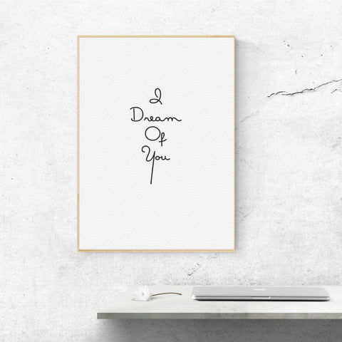Dream of You Print by Proper Job Studio on OOSTOR.com