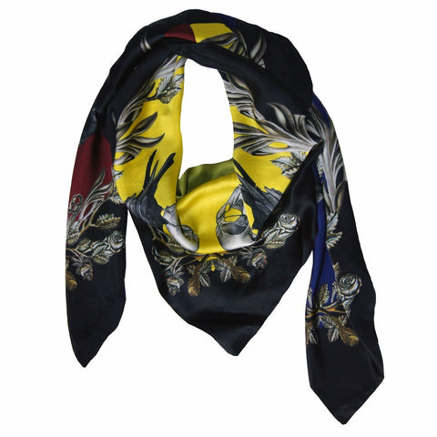 Merletta Silk Scarf by Emilia Mala on OOSTOR.com