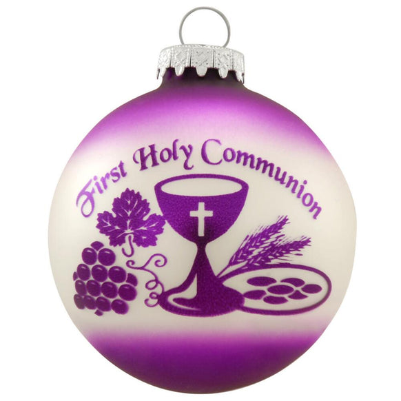 First Holy Communion Ornament for Christmas Tree