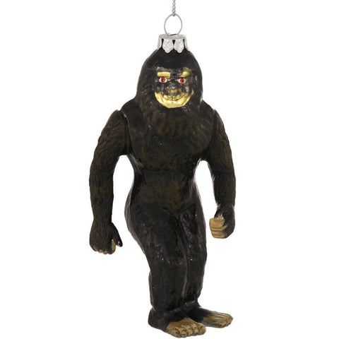 "4.5"" Sasquatch/ Big Foot glass ornament"