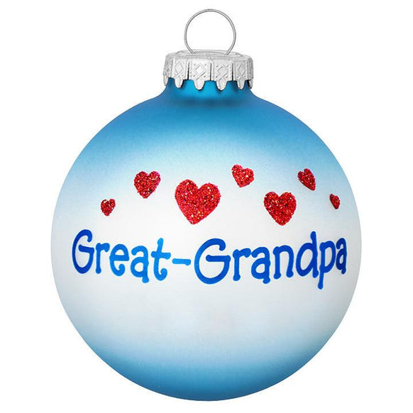Great Grandpa Ornament for Christmas Tree