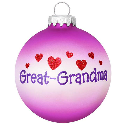 Great Grandma Ornament for Christmas Tree