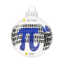 PI Glass Bulb Ornament