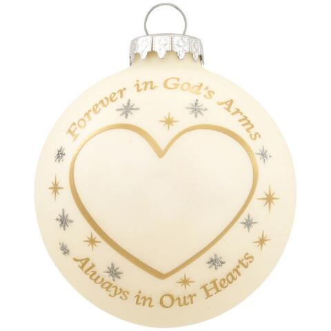 Forever In God's Arms Memorial Ornament