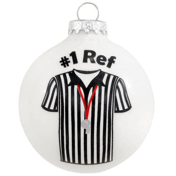 #1 Ref Whistle Ornament for Christmas Tree