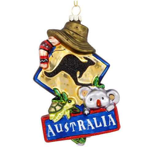 Australia Ornament for Christmas Tree