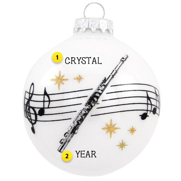 Flute Ornament | Christmas Ornaments | Callisters – Callisters Christmas