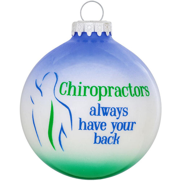Chiropractor Ornament for Christmas Tree - Chiropractor Ornament Christmas Ornaments Callisters
