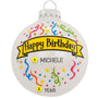Happy Birthday Ornament