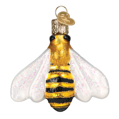 Honey Bee Christmas Ornament