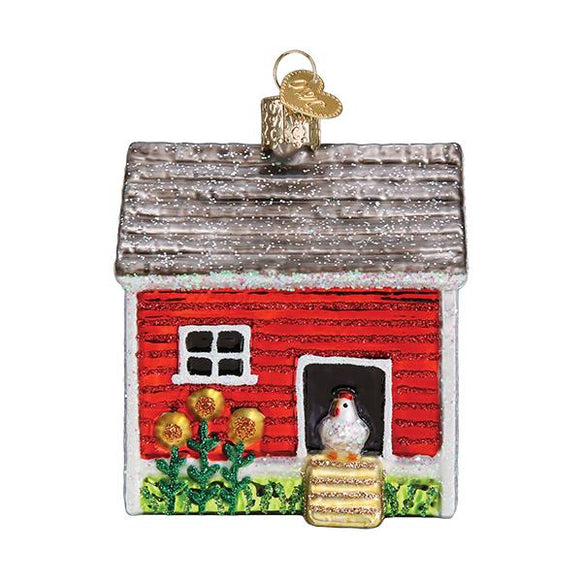 Chicken Coop Ornament