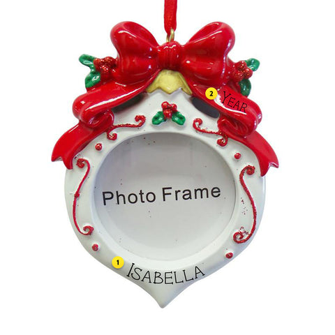 Christmas frame ornament for your tree.