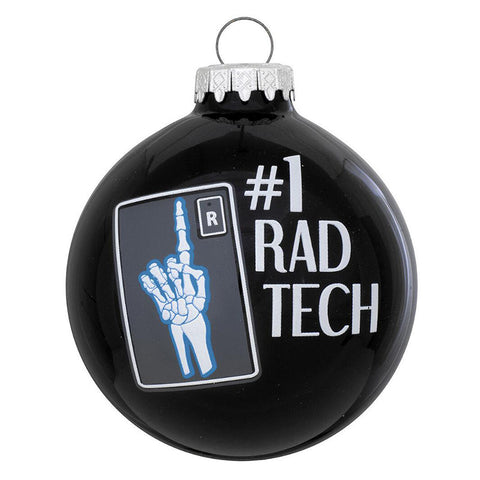 #1 Rad Tech Ornament for Christmas Tree