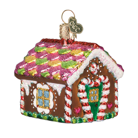 Gingerbread House Christmas Ornament
