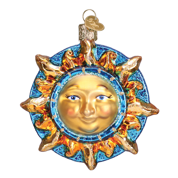 Fanciful Sun Glass Old World Christmas Ornament