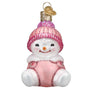 Snow Baby Girl Ornament