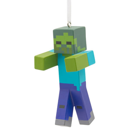 Minecraft Zombie resin ornament