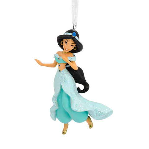 Princess Jasmine from Aladdin resin ornament