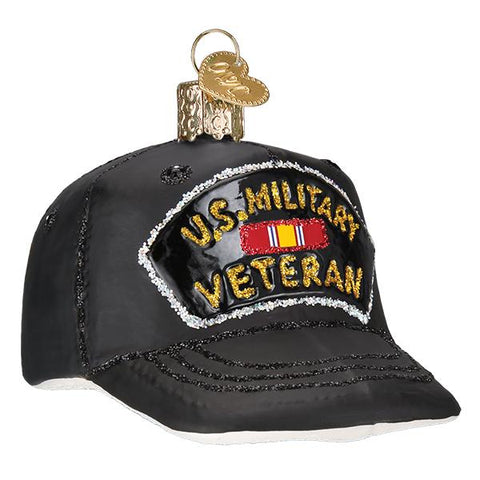 Veterans Cap Ornament