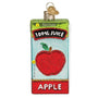 Apple Juice Box Ornament