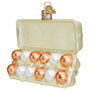 Glass Egg Carton Ornament for Christmas tree