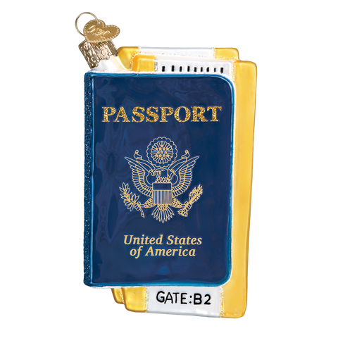 Passport Ornament