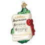 Joy to the World Music Glass Old World Christmas Ornament