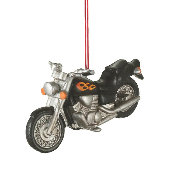 3d motorcycle ornament