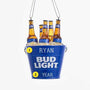 Bud Light Bottles Christmas Ornament