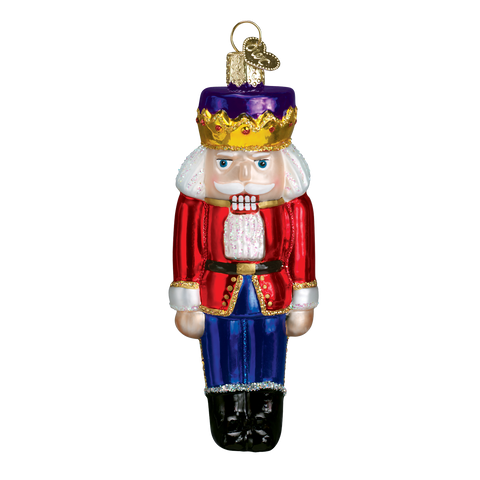 Nutcracker Prince Glass Old World Christmas Ornament