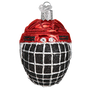 Hockey Helmet Ornament