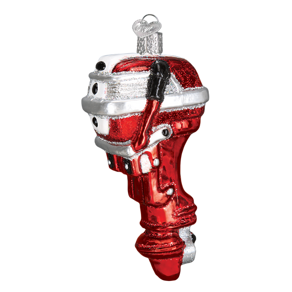 Outboard Motor Ornament